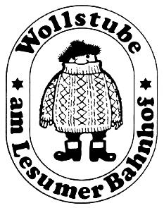 Wollstube am Lesumer Bahnhof Logo